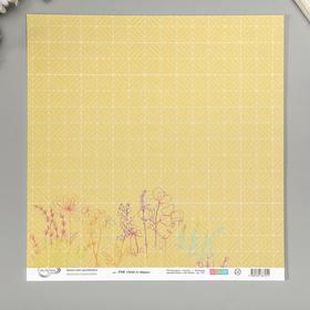 "Бумага для скрапбукинга Mr.Painter ""Фреш 6"" 30,5х30,5 см 190гр/м2"