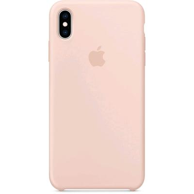Чехол клип-кейс Apple для iPhone XS Max (MTFD2ZM/A), силиконовый, розовый песок