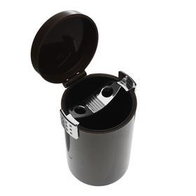 Пепельница для авто TORSO в подстаканник, коричневый Ош