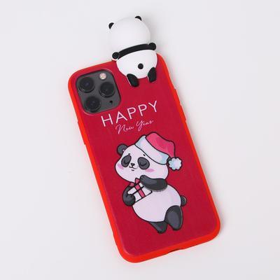 Чехол для телефона iPhone 11 pro «Радостный панда», с персонажем, 7,14 х 14,4 см - Фото 1