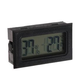 Термометр, влагомер цифровой, ЖК-экран Ош