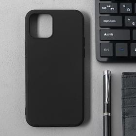 Чехол Activ Full Original Design, для Apple iPhone 12/12 Pro, силиконовый, чёрный