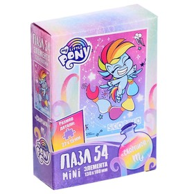 Пазл 54 элемента «Пони» МИКС