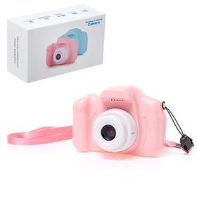 Детский фотоаппарат «Начинающий фотограф», цвет розовый Ош