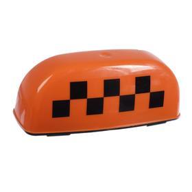 Знак 'TAXI' магнитный,  с подсветкой, 12 В, оранжевый Ош