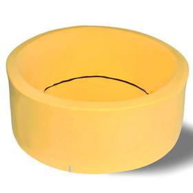 Сухой бассейн «Жёлтый Лайт»? Н=33 см, D=85 см