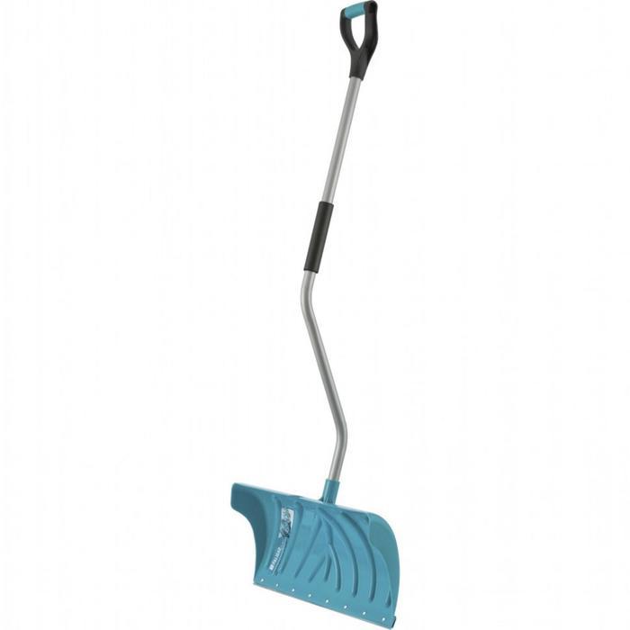 Движок-лопата пластиковый, размер ковша 29 × 61,5 см, металлическая планка, Palisad LUXE COLOR LINE