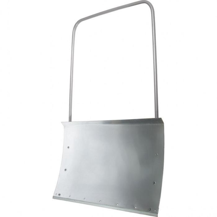 Движок стальной оцинкованный, размер ковша 49,5 × 75,5 см, металлическая планка, стальная рукоятка, «Сибртех»