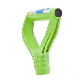 Ручка V-образная для черенка, d = 32 мм, усиленная, пластиковая, «Сибртех»