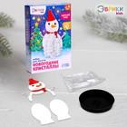 Набор для опытов «Чудесные кристаллы», снеговик