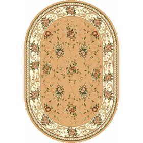 Овальный ковёр Laguna 5455, 60x110 см, цвет beige Ош