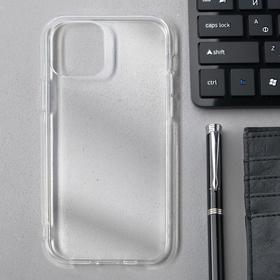 Чехол Innovation, для Apple iPhone 12/12 Pro, силиконовый, прозрачный
