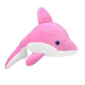 Мягкая игрушка «Дельфин розовый», 25 см