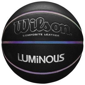 Мяч баск. WILSON NCAA Luminous, арт.WTB2027ID07, р.7, композит, бут.камера, черный
