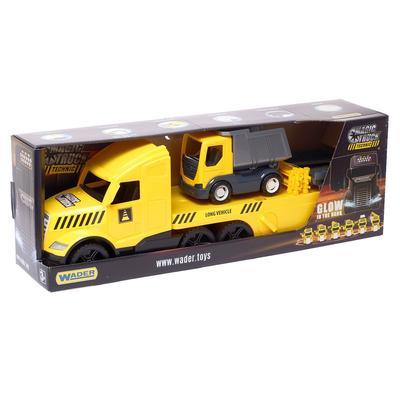 Грузовик Magic Truck Technic, c грузовиком - Фото 1
