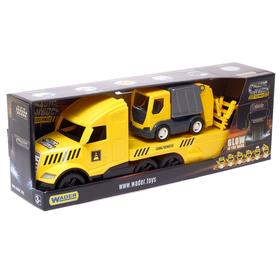 Грузовик Magic Truck Technic, с мусоровозом