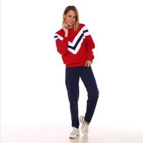 Комплект (свитшот, брюки) женский «Влада» цвет красный, размер 44 Ош