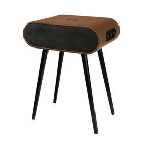 Акустическая система Rombica Mysound Jazz Black, 120 Вт, BT 5.0, AUX, USB, коричневая