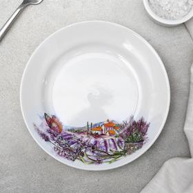 Тарелка мелкая «Прованс», d=17,5 см