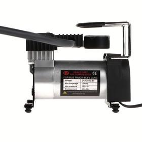 Компрессор автомобильный 12В с LED подсветкой, 35 л/мин, провод 2.5 м. Ош