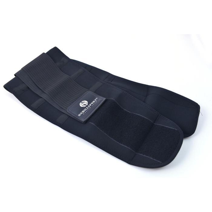 Бандаж для спины, цвет чёрный, размер XXXXL (120-130 см)