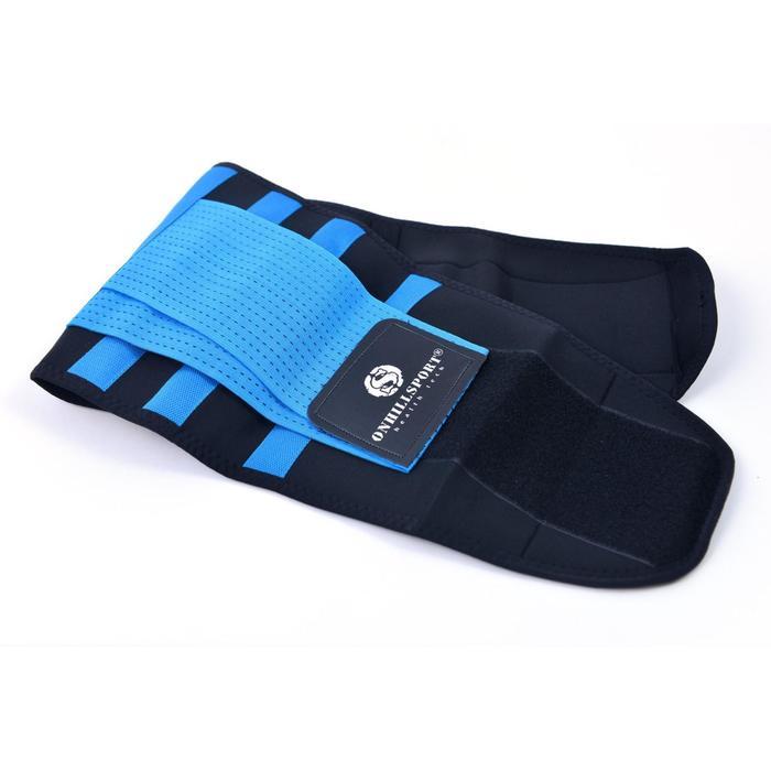 Бандаж для спины, цвет синий, размер M (70-80 см)