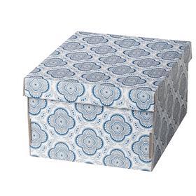 Короб для хранения с крышкой СМЕКА, 26x32x17 см
