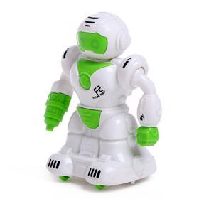Робот инерционный «Патрульный», цвета МИКС