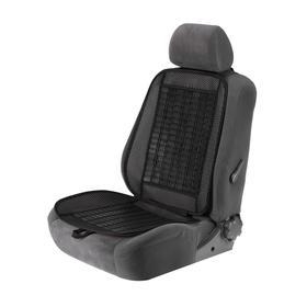 Накидка-массажер TORSO на сиденье, 123×47 см, пластиковые вставки, черный Ош
