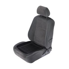 Накидка-массажер на сиденье TORSO, 47 х 47 см, пластиковые вставки, черный Ош
