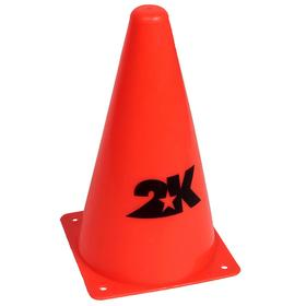 Конус разметочный 23 см, цвет оранжевый, размер standart Ош