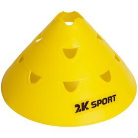 Конус тренировочный многофункциональный, цвет жёлтый Ош