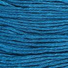 Нитки мулине, 8 ± 1 м, цвет морской синий, №3765