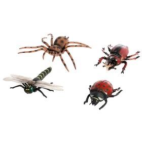 Набор животных «Насекомые», 4 фигурки