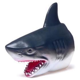 Мягкая фигурка животного «Акула», надевается на руку
