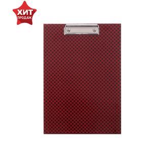 Планшет с зажимом А4 дизайн 'Шахматы', ламинированный картон, 2 мм Ош