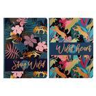 Бизнес-блокнот А6, 64 листа Stay wild, интегральная обложка, глянцевая ламинация, МИКС - Фото 1