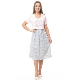 Сорочка женская, цвет МИКС, размер 58