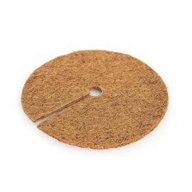 Круг приствольный, d = 0,3 м, из кокосового полотна