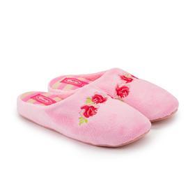 Тапочки женские, цвет светло-розовый, размер 37