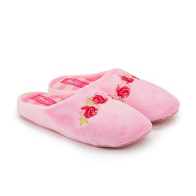 Тапочки женские, цвет светло-розовый, размер 37 - Фото 1