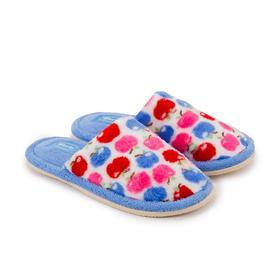 Тапочки детские, цвет голубой, размер 33