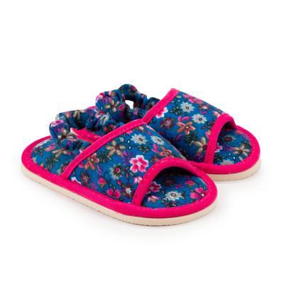 Тапочки детские, цвет синий, размер 25 - Фото 1