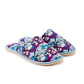 Тапочки женские, цвет голубой, размер 38-39