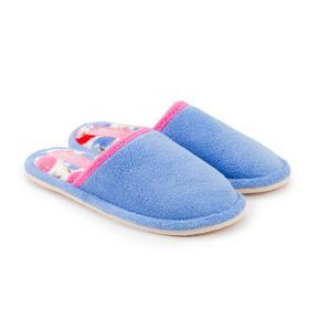 Тапочки женские, цвет синий, размер 36
