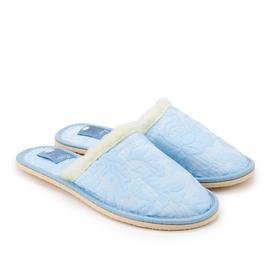 Тапочки женские, цвет голубой, размер 36-37