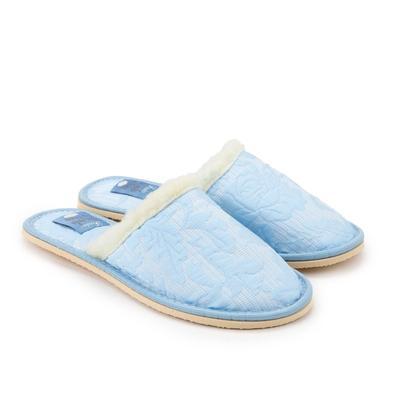 Тапочки женские, цвет голубой, размер 36-37 - Фото 1