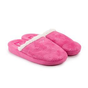 Тапочки женские, цвет розовый, размер 37