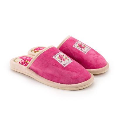 Тапочки женские, цвет розовый, размер 36 - Фото 1