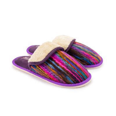 Тапочки женские, цвет фиолетовый, размер 36-37 - Фото 1